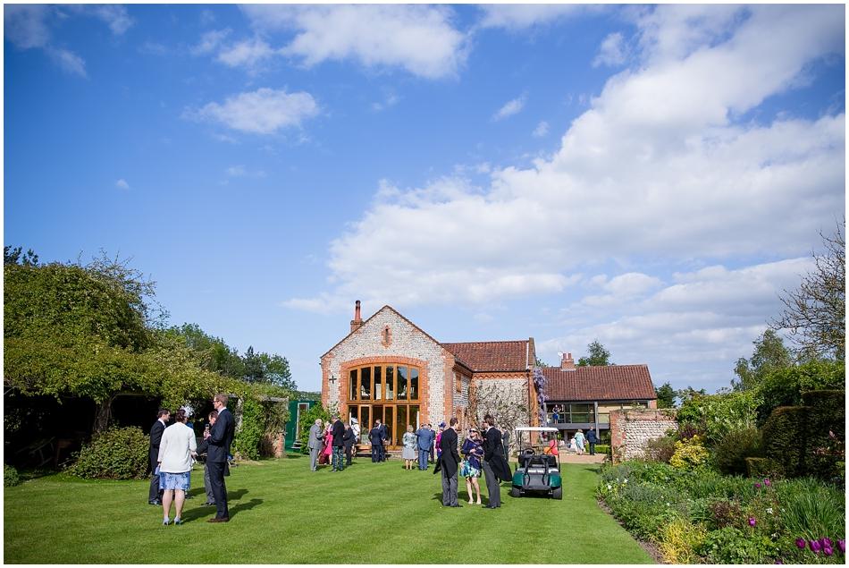 Chaucer Barn wedding_028