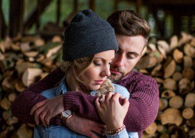 Jamie and Emily Woodland Shoot-261