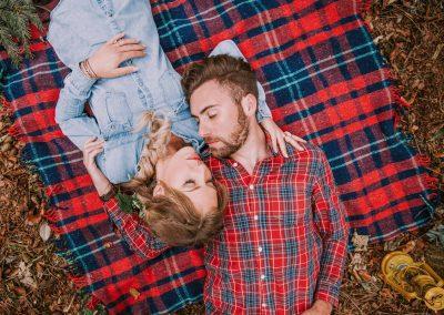 Jamie and Emily Woodland Shoot-180