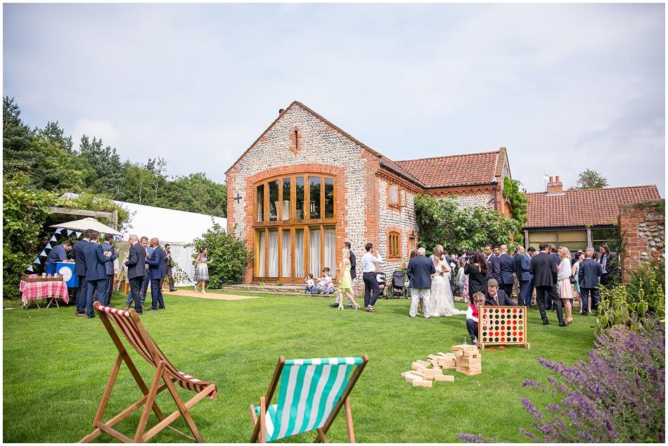 Chaucer Barn Wedding_137