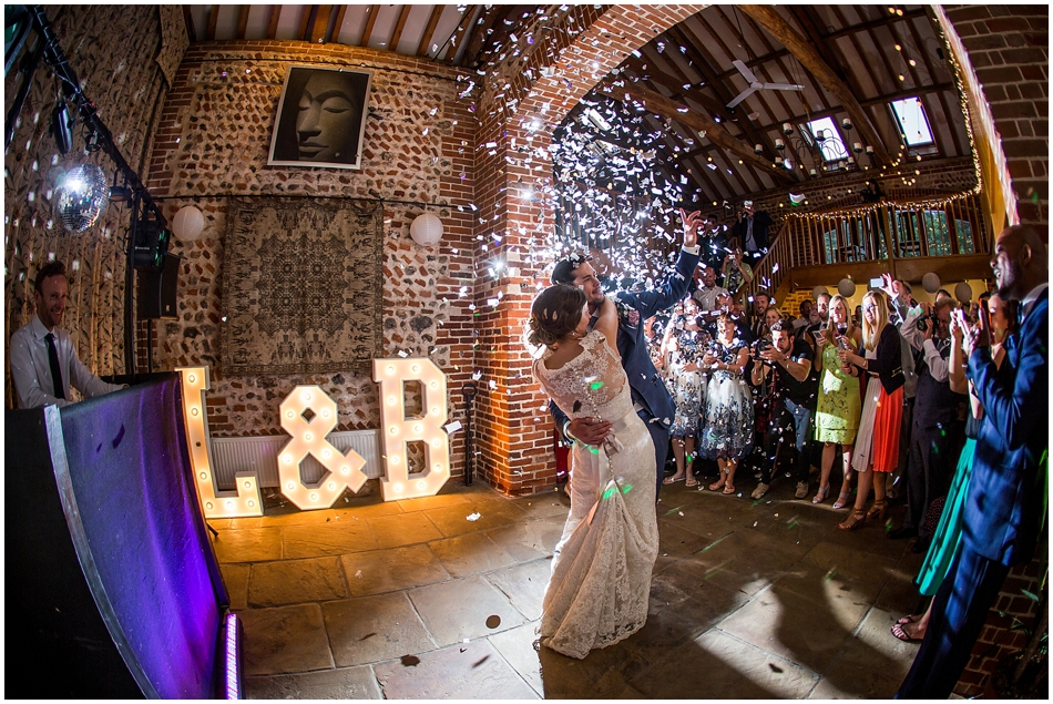 Chaucer Barn Wedding_196