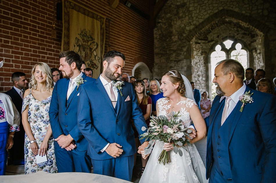 I Do… Simon & Beth, Pentney Abbey {Favourite Five Moments}